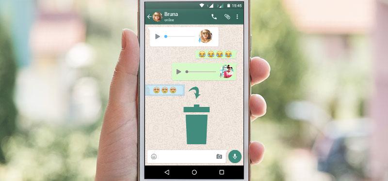 Novidade marketing digital: WhatsApp permite apagar conversa enviada!