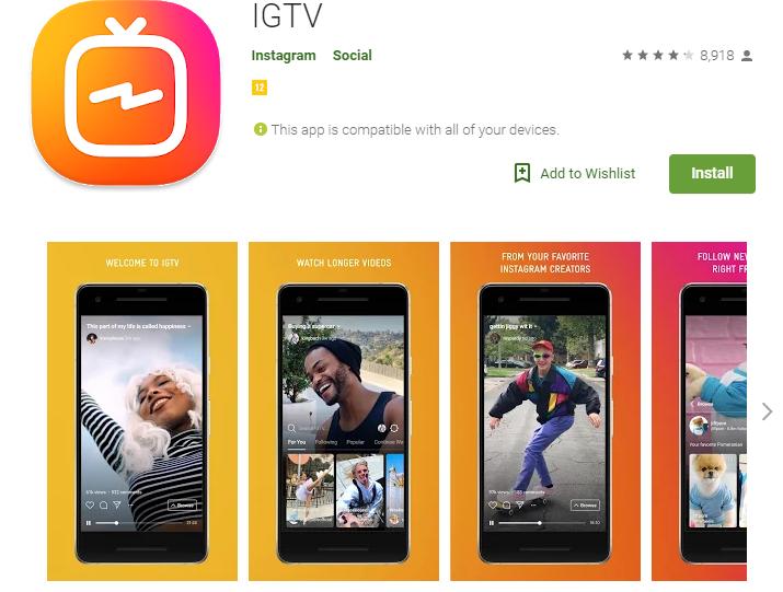 SOCIAL MEDIA IGTV